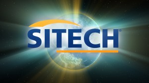 SITECH Logo with Earth